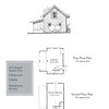This plan is a 2 -car garage at 728 Square Feet with a bonus room above at 459 Heated Square Feet. Carolina Inspirations Book I, Page 98, C0201.