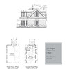 This plan is a 3 -car garage at 704 Square Feet with a bonus room at 450 Heated Square Feet above. Carolina Inspirations Book I, Page 99, C0202.