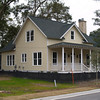 The Coosaw River Cottage by Allison Ramsey Architects. This plan is 1705 Heated Square Feet, 3 Bedrooms & 2 1/2 Bathrooms. Carolina Inspirations Book I, Page 63, C0030.