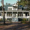 The Goose Pond Plan by Allison Ramsey Architects built on Spring Island, South Carolina. This plan is 3988 Heated Square Feet, 3 Bedrooms and 3 1/2 Bathrooms. Carolina Inspirations Book I, Page 31, C0052.