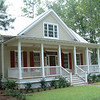 The Oak Spring Plan by Allison Ramsey Architects built at Habersham in Beaufort, South Carolina. This plan is 1897 Heated Square Feet, 3 Bedrooms & 2 1/2 Bathrooms. Carolina Inspirations Book I, Page 74, C0023.