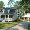 The Ashley River Cottage Plan by Allison Ramsey Architects. This plan is 1533 Heated Square Feet, 3 Bedrooms & 2 1/2 Bathrooms. Carolina Inspirations Book I, Page 83, C0075.