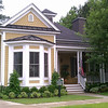 The Colleton Plan by Allison Ramsey Architects built at St Johns Village on Johns Island in South Carolina. This plan is 2083 Heated Square Feet, 3 Bedrooms and 2 Bathrooms. Carolina Inspirations Book I, Page 14, C0215.
