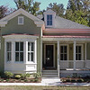 The Colleton Plan by Allison Ramsey Architects built at I'on in Mount Pleasant, South Carolina. This plan is 2083 Heated Square Feet, 3 Bedrooms and 2 Bathrooms. Carolina Inspirations Book I, Page 14, C0215.