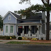 The Colleton Plan by Allison Ramsey Architects built at East Beach in Norfolk, Virginia. This plan is 2083 Heated Square Feet, 3 Bedrooms and 2 Bathrooms. Carolina Inspirations Book I, Page 14, C0215.