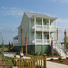 The Drayton Plan by Allison Ramsey Architects built at Rushland on Johns Island, South Carolina. This plan is 2025 Heated Square Feet, 3 Bedrooms and 2 1/2 Bathrooms. Carolina Inspirations Book I, Page 10, C0227.