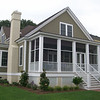 The Eden Plan by Allison Ramsey Architects built at East Beach in Norfolk, Virginia. This plan is 2461 Heated Square Feet, 4 Bedrooms and 3 Bathrooms. Carolina Inspirations Book I, Page 4, C0231