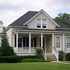 The Eden Plan by Allison Ramsey Architects built at Coosaw Point in Beaufort, South Carolina. This plan is 2461 Heated Square Feet, 4 Bedrooms and 3 Bathrooms. Carolina Inspirations Book I, Page 4, C0231.
