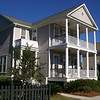 The Fleming Plan by Allison Ramsey Architects built at Hibben in Mount Pleasant, South Carolina. This plan is 1820 Heated Square Feet, 4 Bedrooms and 3 Bathrooms. Carolina Inspirations, Book I, Page 51, C0072.