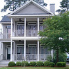 The Fleming Plan by Allison Ramsey Architects built at St Johns Woods on Johns Island in South Carolina. This plan is 1820 Heated Square Feet, 4 Bedrooms and 3 Bathrooms. Carolina Inspirations, Book I, Page 51, C0072.