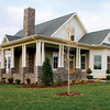 The Hayek Plan by Allison Ramsey Architects built at Tollgate. This plan is 1727 Heated Square Feet, 3 Bedrooms & 3 Bathrooms. Carolina Inspirations Book I, Page 85, C0026