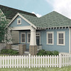 This plan is 1576 Heated Square Feet, 3 Bedrooms & 2 Bathrooms. Carolina Inspirations Book I, Page 80, C0035.