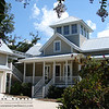 The Key Cottage by Allison Ramsey Architects built at Battery Point in Beaufort, South Carolina. This plan is 2477 Heated Square Feet, 3 Bedrooms and 2 1/2 Bathrooms. Carolina Inspirations Book I, Page 9, C0014.