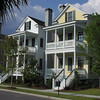 The Legare Plan by Allison Ramsey Architects built at Battery Point in Beaufort, South Carolina. This plan is 2105 Heated Square Feet, 3 Bedrooms and 3 1/2 Bathrooms. Carolina Inspirations Book I, Page 16, C0221