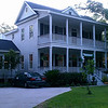 The Pendleton Plan by Allison Ramsey Architects built at Pleasant point in Beaufort, South Carolina. This plan is 2188 Heated Square Feet, 4 Bedrooms & 3 1/2 Bathrooms. Carolina Inspirations Book I, Page 82, C0044.