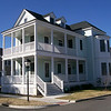 The Regency Plan by Allison Ramsey Architects built at East Beach in Norfolk, Virginia. This plan is 2678 Heated Square Feet, 4 Bedrooms & 3 1/2 Bathrooms. Carolina Inspirations, Book II, Page 15. C0335.