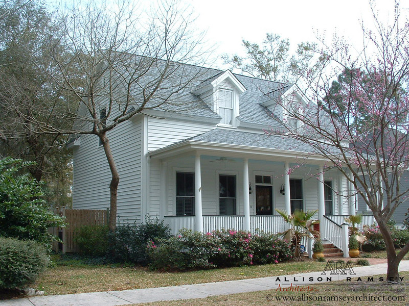 The Southside Cottage by Allison Ramsey Architects built at Newpoint in Beaufort, South Carolina. This plan is  1641 Heated Square Feet, 3 Bedrooms and 2 Bathrooms. Carolina Inspirations I, Page 3, C0003