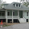 The St. Helena Plan by Allison Ramsey Architects built at Bull Point in Beaufort, South Carolina. This plan is 2458 Heated Square Feet, 4 Bedrooms and 3 Bathrooms. Carolina Inspirations Book I, Page 47, C0024.