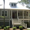The St. Helena Plan by Allison Ramsey Architects built in North Carolina. This plan is 2458 Heated Square Feet, 4 Bedrooms and 3 Bathrooms. Carolina Inspirations Book I, Page 47, C0024.