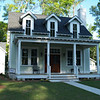 The Valley Farm Cottage Plan by Allison Ramsey Architects built on Fuller Street in Beaufort, South Carolina. This plan is 1619 Heated Square Feet, 3 Bedrooms & 2 Bathrooms. Carolina Inspirations Book I, Page 88, C0081
