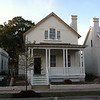 The Verdier Plan by Allison Ramsey Architects at Midtown Square in Beaufort, South Carolina. This variation is 1788 Heated Square Feet, 3 Bedrooms and 2 1/2 Bathrooms. Carolina Inspirations Book I, Page 7, C0012.