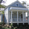 The Verdier Plan by Allison Ramsey Architects at I'on on Mount Pleasant, South Carolina. This plan is 1772 Heated Square Feet, 3 Bedrooms and 2 1/2 Bathrooms. Carolina Inspirations Book I, Page 7, C0012.