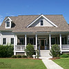 The Westport Plan by Allison Ramsey Architects built at Coosaw Point in Beaufort, South Carolina. This plan is 2404 Heated Square Feet, 3 Bedrooms and 2 1/2 Bathrooms. Carolina Inspirations Book I, Page 11, C0046.