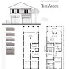 The Argoe Plan by Allison Ramsey Architects. This plan is 1464 Heated Square Feet, 2 Bedrooms and 2 Bathrooms. Carolina Inspirations Book II, Page 38, C0377.