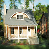 The Ashepoo River House by Allison Ramsey Architects built at Old Shell Point in Port Royal, South Carolina. This plan is 1911 Heated Square Feet, 3 Bedrooms and 2 & 1/2 Bathrooms. Carolina Inspirations, Book II, Page 77, C0414.
