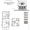 This plan is 1911 Heated Square Feet, 3 Bedrooms and 2 & 1/2 Bathrooms. Carolina Inspirations, Book II, Page 77, C0414.