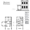 The Battery Cottage Plan by Allison Ramsey Architects is 1382 Heated Square Feet, 2 Bedrooms and 2 1/2 Bathrooms. Carolina Inspirations, Book II, Page 71, C0409.