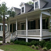 The Bluff Towne Cottage by Allison Ramsey Architects built at Coosaw Point in Beaufort, South Carolina. This plan is 2508 Heated Square Feet, 3 Bedrooms & 3 1/2 Bathrooms. Carolina Inspirations Book II, Page 17, C0306.