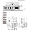 This plan is 3622 Heated Square Feet, 4 Bedrooms and 3 1/2 Bathrooms. Carolina Inspirations, Book II, Page 64, C0403.