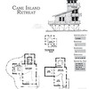 The Cane Island Retreat Plan by Allison Ramsey Architects is 1126 Heated Square Feet, 1 Bedrooms and 1 Bathroom. Carolina Inspirations, Book II, Page 47, C0386.