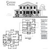 The Capers Creek Plan by Allison Ramsey Architects is 3447 Heated Square Feet, 4 Bedrooms and 3 Bathrooms. Carolina Inspirations, Book II, Page 43, C0382.