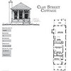 The Clay Street Cottage Plan is 931 Heated Square Feet, 2 Bedrooms and 1 Bathroom. Carolina Inspirations, Book II, Page 18, C0357.