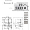 This plan is 3095 Heated Square Feet, 5 Bedrooms & 3 Bathrooms. Carolina Inspirations Book II, Page 21. C0360.