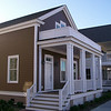 The Euhaw Creek Plan by Allison Ramsey Architects built at East Beach in Norfolk, Virginia. This plan is 1589 Heated Square Feet, 3 Bedrooms and 2 1/2 Bathrooms. Carolina Inspirations Book II, Page 05.