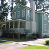 The Fox Meadow V Plan by Allison Ramsey Architects built at Battery Point in Beaufort, South Carolina. This plan is 2304 Heated Square Feet, 4 Bedrooms and 3 1/2 Bathrooms. Carolina Inspirations, Book II, Page 53, C0392.