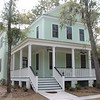 The Fox Meadow V Plan by Allison Ramsey Architects built at Coosaw Point in Beaufort, South Carolina. This plan is 2304 Heated Square Feet, 4 Bedrooms and 3 1/2 Bathrooms. Carolina Inspirations, Book II, Page 53, C0392.