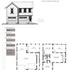 This plan has 676 Heated Square Feet above the garage which includes 1 Bedroom and 1 Bathroom. Carolina Inspirations, Book II, Page 58, G0099.