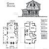 The Gibbs House by Allison Ramsey Architects is 1751 Heated Square Feet, 3 Bedrooms and 2 1/2 Bathrooms. Carolina Inspirations, Book II, Page 83, C0346.