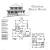 The Goodean Beach House Plan is 2268 Heated Square Feet, 3 Bedrooms and 3 Bathrooms. Carolina Inspirations, Book II, Page 24, C0363.