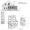 The Hartsville plan is 2922 Heated Square Feet, 4 Bedrooms and 4 Bathrooms. Carolina Inspirations, Book II, Page 16, C0356.