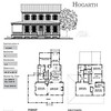 The Hogarth Plan by Allison Ramsey Architects is 2946 Heated Square Feet, 4 Bedrooms and 4 1/2 Bathrooms. Carolina Inspirations, Book II, Page 54, C0393.
