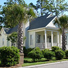 The King Street Cottage Plan by Allison Ramsey Architects built at Battery Point in Beaufort, South Carolina. This plan is 1490 Heated Square Feet, 3 Bedrooms & 2 Bathrooms. Carolina Inspirations Book II, Page 08.