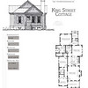 This plan is 1490 Heated Square Feet, 3 Bedrooms & 2 Bathrooms. Carolina Inspirations Book II, Page 08.