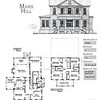 This plan is 2727 Heated Square Feet, 5 Bedrooms and 3.5 Bathrooms. Carolina Inspirations, Book II, Page 1, C0355.