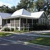 The Schooner Creek Cottage by Allison Ramsey Architects built at Battery Point in Beaufort, South Carolina. This plan is 1943 Heated Square Feet, 3 Bedrooms and 2 Bathrooms. Carolina Inspirations Book II, Page 13, C0353.