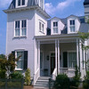 The Second Empire Tower Plan by Allison Ramsey Architects build at Hammond's Ferry in North Augusta, South Carolina. This plan is 2274 Heated Square Feet, 3 Bedrooms and 3 Bathrooms. Carolina Inspirations, Book II, Page 48, C0387.